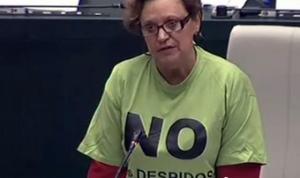 Milagros Hernández en el Pleno